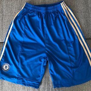 Adidas Chelsea Football Club Soccer Shorts - XL